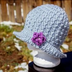 10 Pretty Sun Hat free crochet patterns