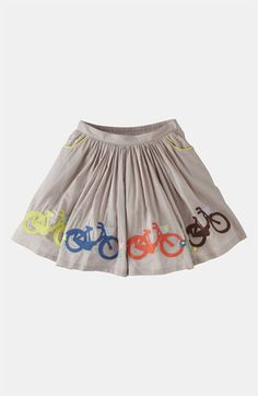 Mini Boden Embroidered Skirt (Toddler, Little Girls & Big Girls) available at #Nordstrom
