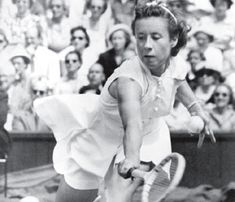 Maureen Connelly aka  'Little Mo' was the first woman to win all four Grand Slam tournaments in 1955.