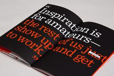 99U Conference :: Branding Collateral 2013 by Raewyn Brandon, via Behance