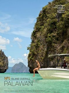 Palawan lands Travel + Leisure US cover