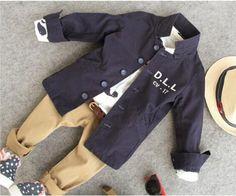 2 6Y meninos primavera outono crianças casaco crianças meninos casaco exército em Sobretudos de Mamãe e Bebê no AliExpress.com   Alibaba Group