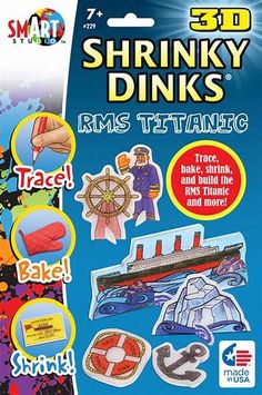 Image result for Shrinky Dinks for Adults