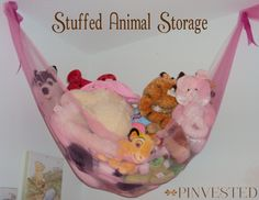 Are stuffed animals taking over your home? Can you not seem to get them to stay in the playroom where they belong? I had that very same problem! Miss Bean