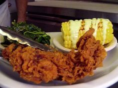 Fried Chicken recipe from Diners, Drive-Ins and Dives via Food Network. Recipe courtesy of Jason Severs, Three Angels Diner  SHOW: Diners, Drive-Ins and Dives EPISODE: All Family, All the Time    Read more at: http://www.foodnetwork.com/recipes/fried-chicken-recipe10.html?oc=linkback