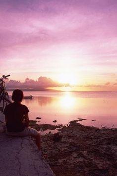 Sunset ~ Okinawa, Japan
