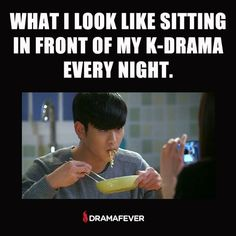 Now you can marathon your favorite dramas with fewer… Korean Drama Funny, Korean Drama Movies, Korean Actors, Korean Dramas, Kdrama Memes, Exo Memes, Funny Memes, My Love From Another Star, Drama Fever