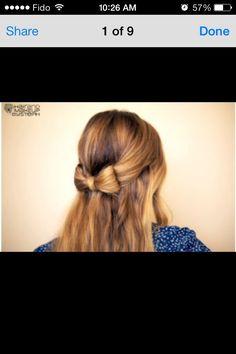 Hair Bow  #Fashion #Beauty #Trusper #Tip