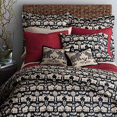 I Love Elephants! Caravan Percale Duvet Cover/Comforter Cover and Sham Elephant Comforter, Elephant Room, Elephant Home Decor, Elephant Stuff, Dream Rooms, Dream Bedroom, Master Bedroom, Bedroom Decor, Bedroom Ideas