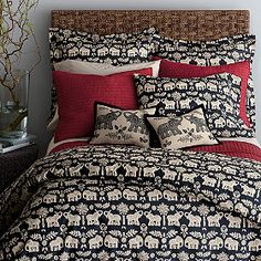 Caravan Percale Duvet Cover/Comforter Cover and Sham | The Company Store