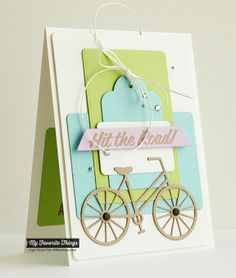 Enjoy the Journey, Bicycle Die-namics, Blueprints 6 Die-namics - Inge Groot #mftstamps