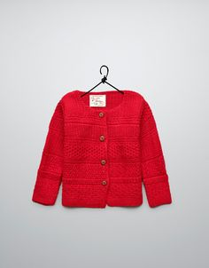 mix stitch cardigan - Cardigans and sweaters - Baby girl (3-36 months) - Kids - ZARA United States
