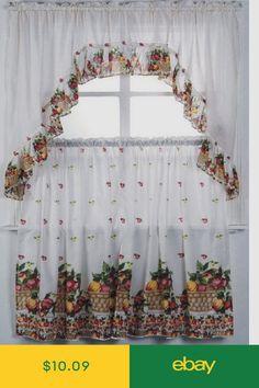 9 best curtains for heather images kitchen window curtains rh pinterest com