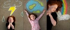 the letter 4: Easy Photo Prop Ideas for Kids