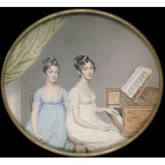 Miss Harriet and Miss Elizabeth Binney John Smart, born 1742 - died 1811