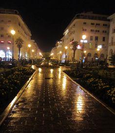 Thessaloniki...a rainy night