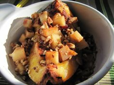 I was on the search for a crock pot method for acorn squash and wasnt happy with what I found. . .so I took a little from each recipe and created my own.  The results were outstanding.  If you have any leftovers, simply scoop out the pulp, apples, craisins and mix with juices in crock pot, mash slightly and freeze for a side dish at a later date!  This recipe is quite forgiving, so dont worry about measuring everything out exactly.  In our house, we eat this as a main course with a small…