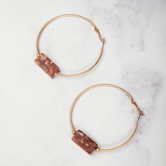 Red Jasper Natural stone are the highlight of these hoops. Our stones are natural and there maybe some colour variances. Colour: Matt Gold and Red Jasper Red Jasper, Manila, Statement Jewelry, Natural Stones, Hoop Earrings, Bracelets, Nature, Gold, Jewellery