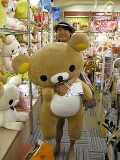Harajuku's Kiddyland toy store is plushie paradise. Tokyo Trip, Tokyo Travel, Japan Shop, Japan Japan, Harajuku Japan, Cuddle Buddy, Kawaii Stuff, Kawaii Shop, Rilakkuma