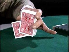 Rene Lavand Revelando su Mezcla falsa con una sola mano - One hand - fal...
