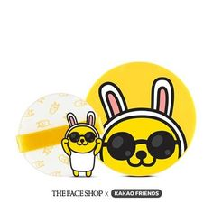 THE FACE SHOP+KAKAO FRIENDS Natural Sun Eco Baby Sunscreen Cushion SPF34 PA++