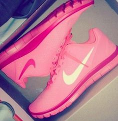 Nike Shoes Pink #Nike #Shoes Yay! Because I totally have these now