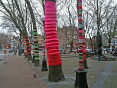 Pioneer Square Yarn Bomb, Seattle by Jason Price, Seattle