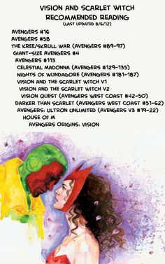 Vision and Scarlet Witch