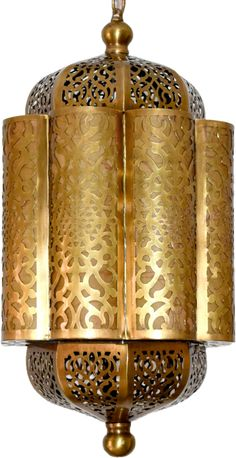 Egyptian cut out brass hanging lantern lightsMade of brass with bronze finishMeasures: wide and height Moroccan Hanging Lanterns, Hanging Lantern Lights, Lantern Lamp, Moroccan Table Lamp, Moroccan Lighting, Brass Lamp, Pendant Lamp, Turkish Lamps, Wow Products