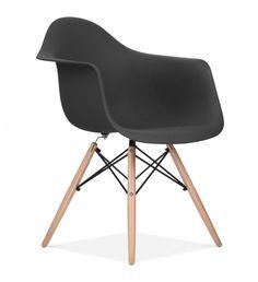 Stol Williamsburg Svart - Köp designstolar billigt - Stolar