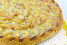 Tarta de Plátanos Te enseñamos a cocinar recetas fáciles cómo la receta de Tarta de Plátanos y muchas otras recetas de cocina.