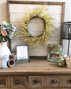 Spring Decor Home Tour- A touch of Spring to brighten my home!