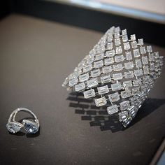 Thank you @gheir for sharing stunning @messikajewelry Diamond Cuff and ring #DiamondBraceletJournal #JewelryJournal