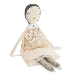 Jess Brown Doll · Belle www.acorntoyshop.com