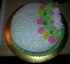 Pastel de piña con merengue