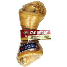 Castor & Pollux Good Buddy USA Rawhide Bone, 6-7 Inch Bone (Pack of 6) - Please be sure to check out this awesome product. (This is an affiliate link and I receive a commission for the sales)