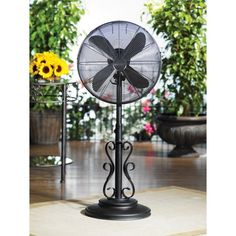 Deco Breeze Deco Breeze Outdoor Standing Fan   Ebony