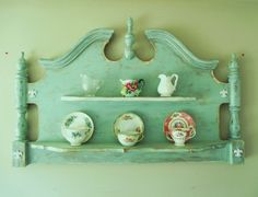 The Victoria Country Victorian Wall Shelf Display