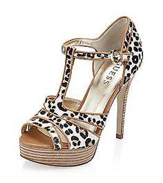 "Guess ""Korrine"" Dress Heel - Cheetah"