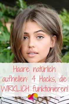 Lighten hair naturally: 4 hacks that REALLY work natürlich auf. - Lighten hair naturally: 4 hacks that REALLY work Haare natürlich aufhellen: 4 Hacks, di - Updo Cabello Natural, Natural Hair Updo, Natural Hair Care, Natural Hair Styles, Lighten Hair Naturally, How To Lighten Hair, Light Hair, Scene Hair, Grow Hair