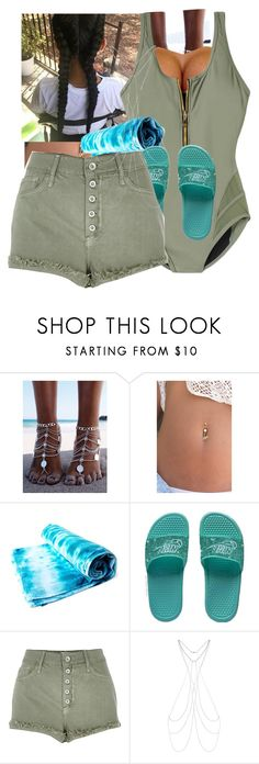 """..PushIt💰"" by slimthickkk ❤ liked on Polyvore featuring swimsuitsforall, NIKE, River Island and New Look"