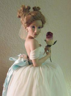 So pretty!     Vintage Ashton Drake Galleries Bride Doll by divelegant on Etsy, $175.00