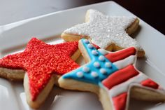 Suzy Social Worker by Day.... Betty Crocker By Night...: Fourth of July Cookies.... and a funny.