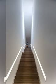 Image result for stair recessed lighting