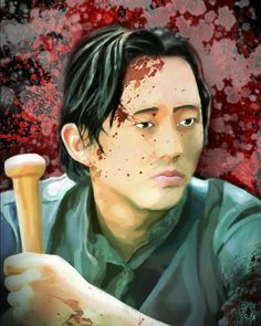 Check out this item in my Etsy shop https://www.etsy.com/ca/listing/555941557/glenn-rhee-steven-yeun-the-walking-dead