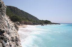 dhermi albania #bluewater #albania #beach