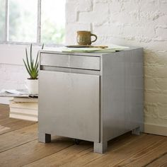 Parsons Filing Cabinet - Metal | west elm