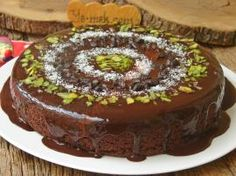 Tencere Keki Cafe Pasta, Best Cake Recipes, Iftar, Chocolate Cake, Cheesecake, Cherry, Food And Drink, Cooking Recipes, Pudding