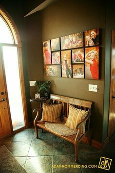 Best wall picture arrangements hallways floors 51 Ideas - Kitchen Wall Colours - Pictures on Wall ideas Home Interior, Interior Design, Picture Arrangements, Photo Arrangement, Photo Grouping, Photograph Wall Display, Sweet Home, Diy Casa, Family Pictures