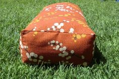 how to sew rectangular yoga bolster